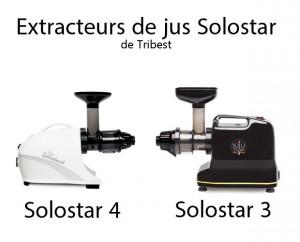 comparer extracteurs de jus solostar 3 et solostar 4. Black Bedroom Furniture Sets. Home Design Ideas