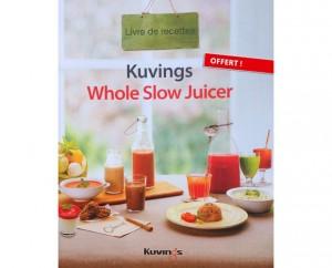 Livre de recettes Kuvings