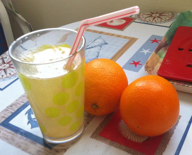 mojito l 39 orange recette pour extracteur de jus. Black Bedroom Furniture Sets. Home Design Ideas