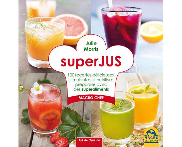 Livre de recettes superJUS