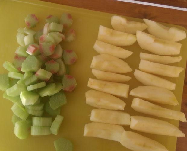 Jus rhubarbe pomme recette pour extracteur de jus - Gelee de pommes avec extracteur de jus ...