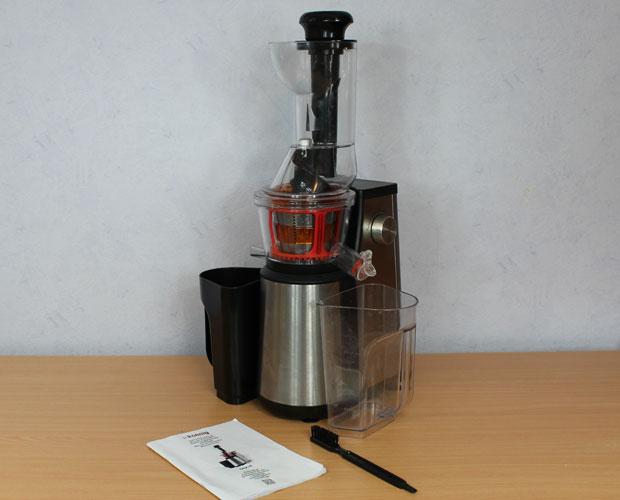test extracteur de jus h.koenig gsx18 - vertical à large ouverture